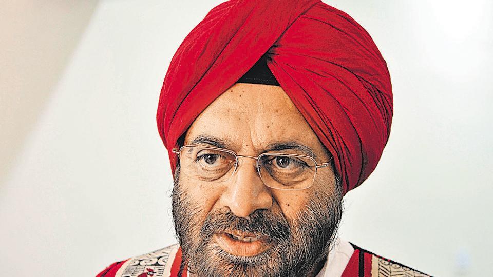 Army chief General JJ Singh (retd).