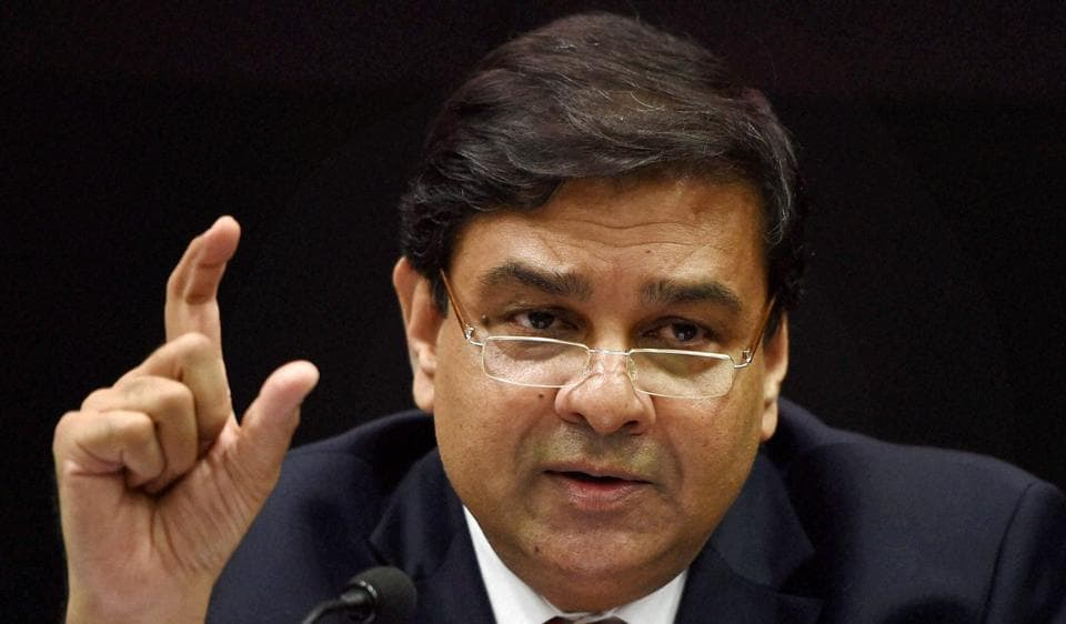 File photo of RBI Governor Urjit Patel addressing a press conference in Mumbai recently.