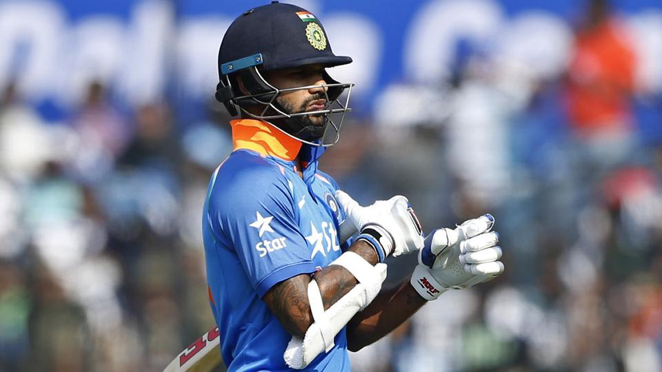 Shikhar Dhawan has failed to perform well in the India vs England ODI series.