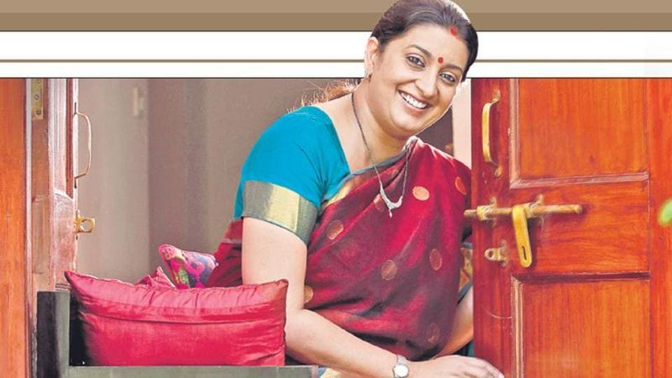 Textiles minister Smriti Irani was speaking in Ahmedabad at an interactive session on the topic 'Women and Wealth'.