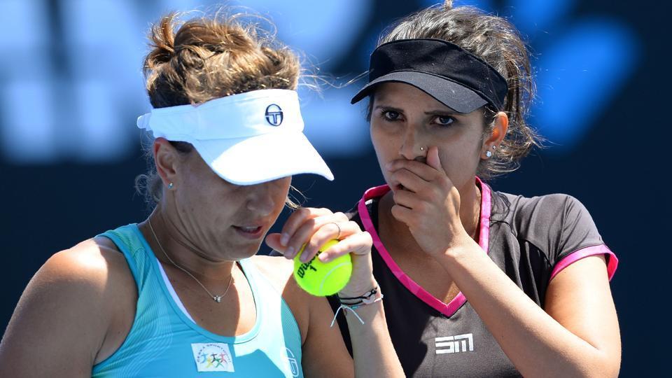Sania Mirza,Australian Open,Barbora Strycova