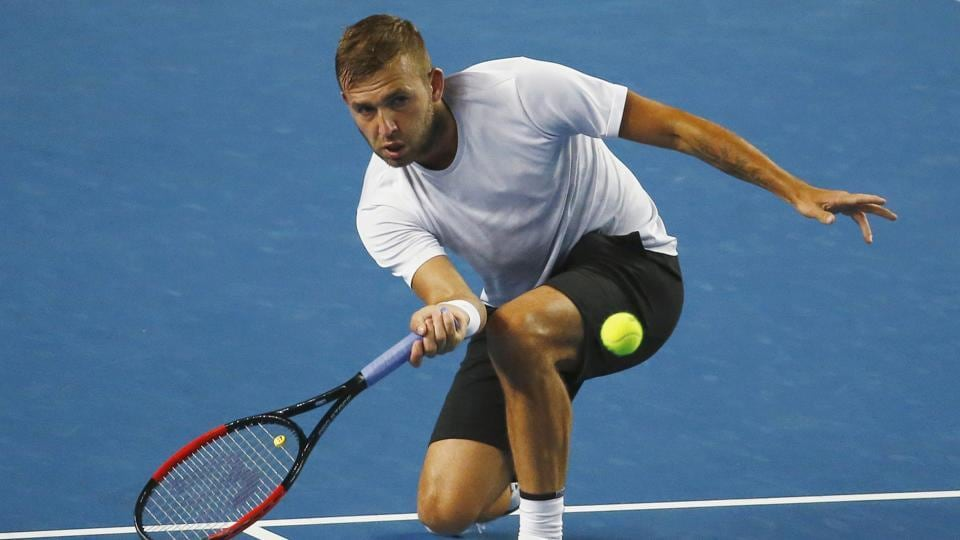 Dan Evans continued his brilliant run at the Australian Open as he defeated Bernard Tomic in