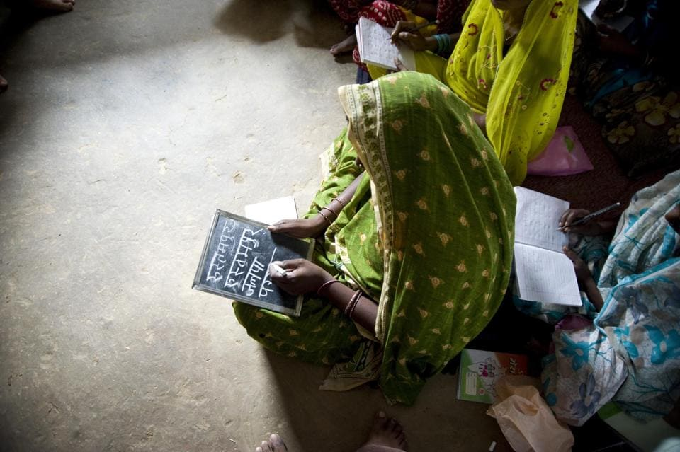 Aajibaichi Shala,women literacy,old women school