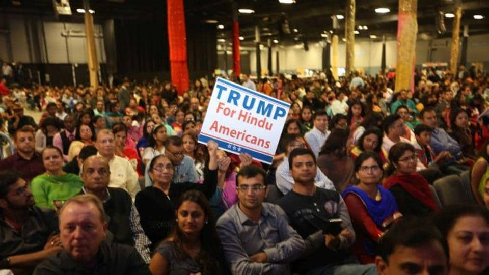 Indian Americans gathered for the presidential gala here to celebrate the inauguration of Donald Trump as the 45th President of the US.