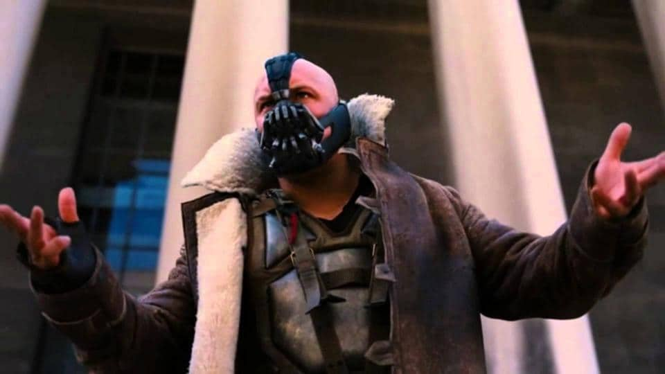 """""""And we give it back to you, the people,"""" said Bane."""