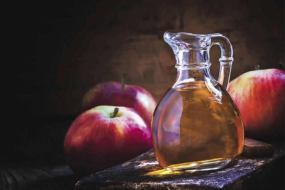 Apple cider vinegar becomes alkaline once ingested, reducing acidity in your digestive system