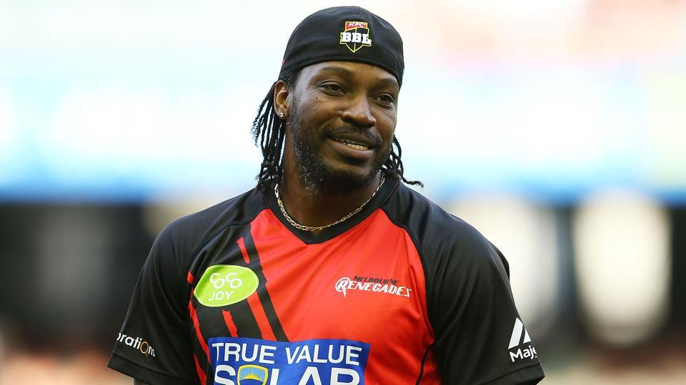 Chris Gayle,Big Bash League,Melbourne Renegades