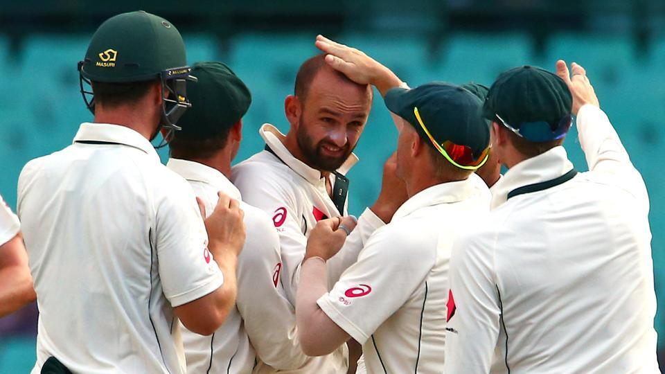 Nathan Lyon is one of Australia's four specialist spinners for the Test series in India.