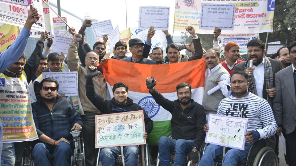 Ghaziabad,UP polls,differently-abled