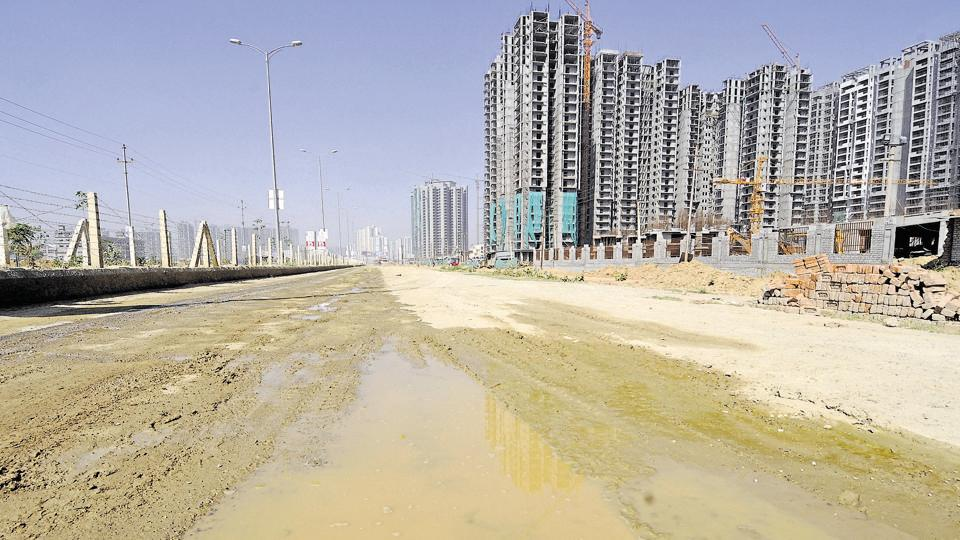 Of the 3 lakh units in Greater Noida West, only about 25,000 units have been given possession.