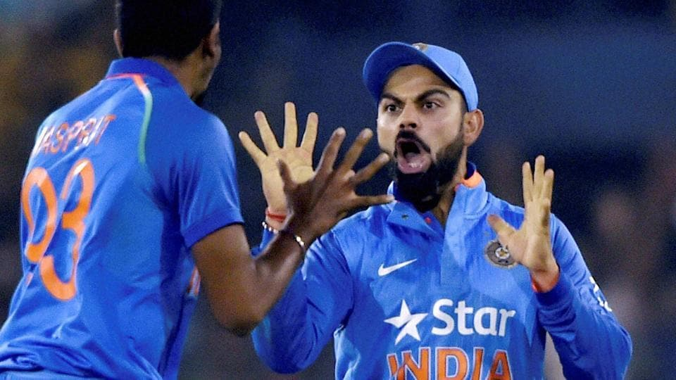 Virat Kohli had clean sweeps in both the ODIseries he had stood in for MSDhoni, winning 5-0 in Zimbabwe in 2013 and 5-0 against Sri Lanka at home next year.