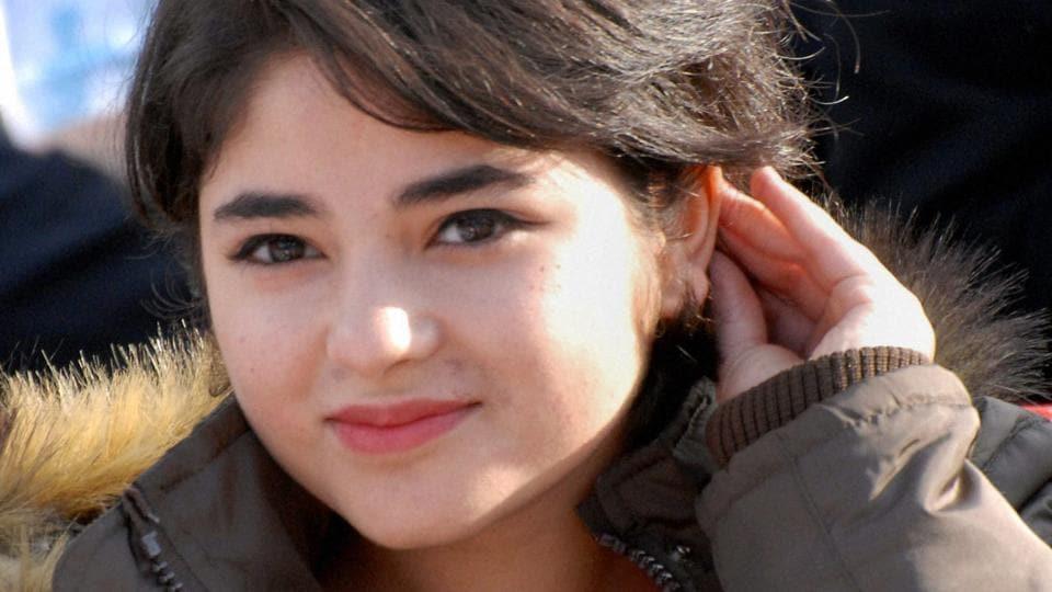 Dangal actress Zaira Wasim.