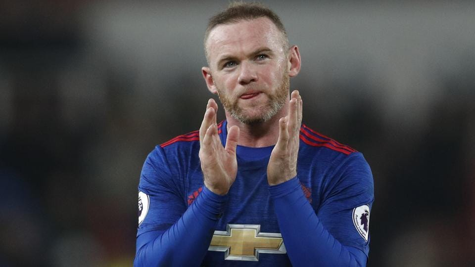 Wayne Rooney breaks Manchester United FC scoring record in draw at Stoke City FC