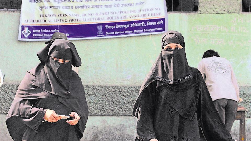 According to EC guidelines, special arrangements have to be made for 'pardanashin' women if a sufficiently large number of such women are assigned to a polling station.