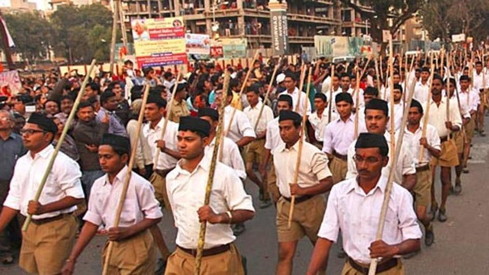 Congress alleged that the RSS amd its affiliated organisations have taken over charge for BJP candidates om Uttar Pradesh.