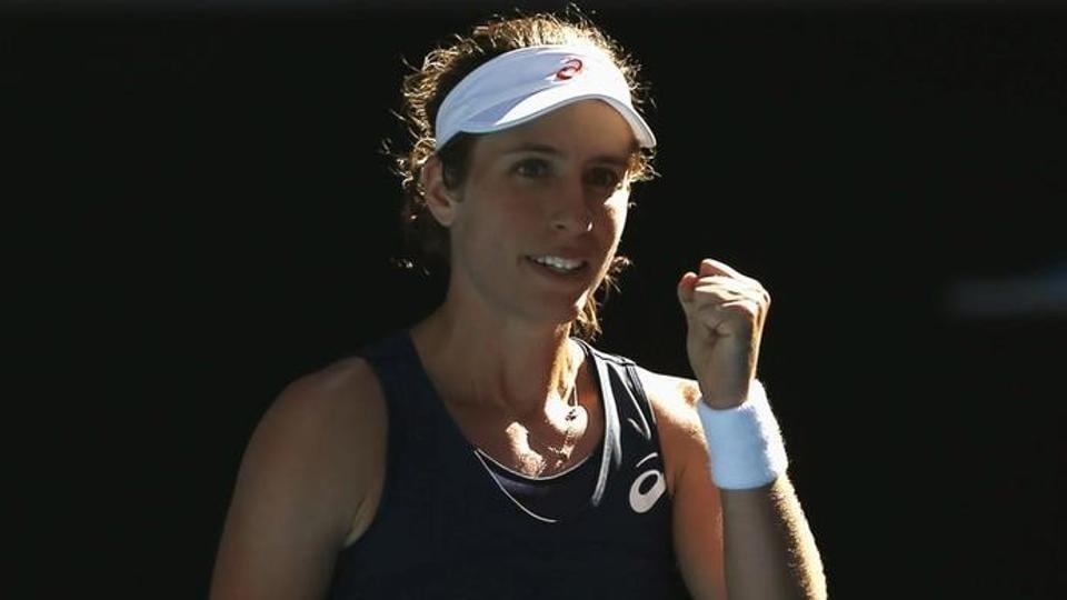 Johanna Konta,Australian Open,Caroline Wozniacki