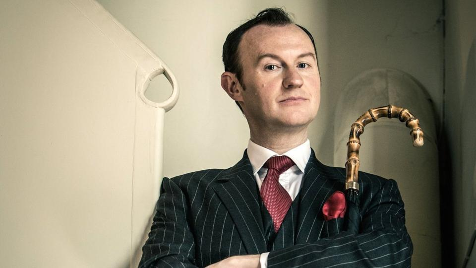 """Actor-writer Mark Gatiss talks about his """"unforgettable"""" experience in India, when he came to Mumbai to talk about TV series Sherlock in 2014."""