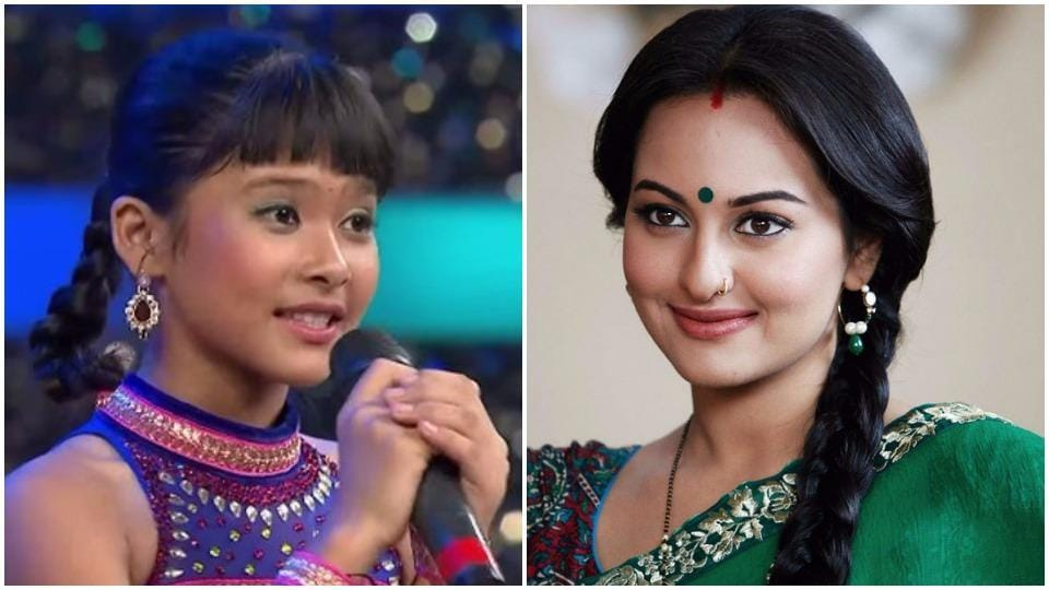 The 14-year-old, who now wants to try her luck in Bollywood, says sharing screen space with actress Sonakshi Sinha is her dream.