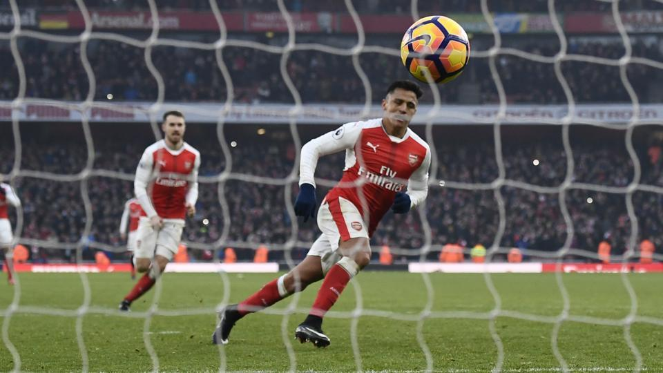 Alexis Sanchez scored from the spot in the 98th minute to hand Arsenal FC a 2-1 win over Burnley FC in Premier League.