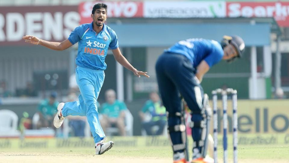 Jasprit Bumrah  during the third One Day International (ODI) between India and England. (BCCI)