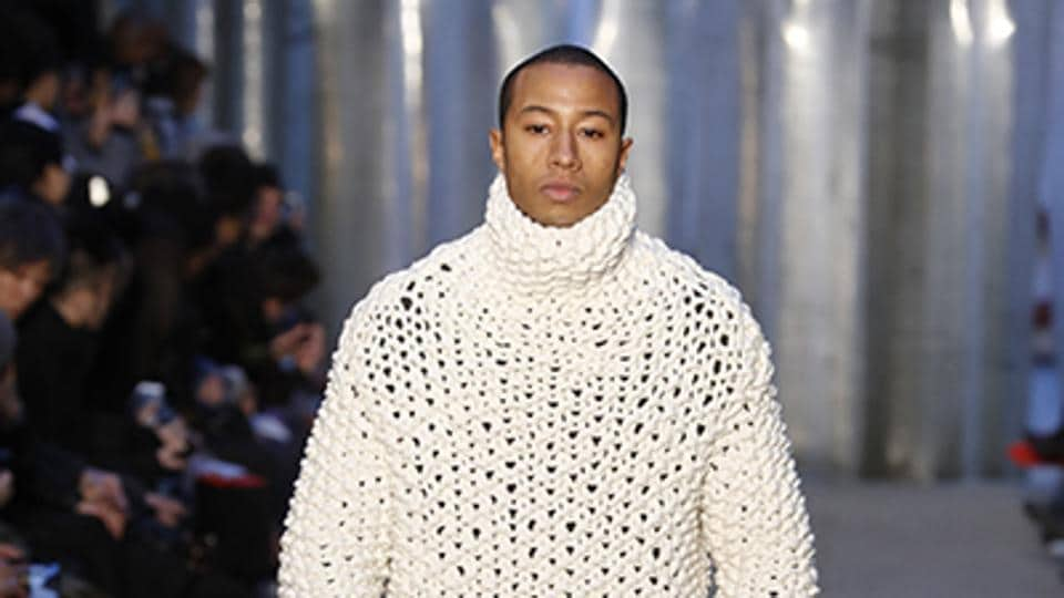 Paris Men's Fashion Week continued to impress on Thursday and Friday, with expressive Autumn/Winter 2017 shows from Junya Watanabe, Dries Van Noten, Yohji Yamamoto and Boris Bidjan Saberi. Chunky knitwear was taken to extremes by Boris Bidjan Saberi, with outsized sweaters paired with cut-off trouser lengths and high boots. (AFP)