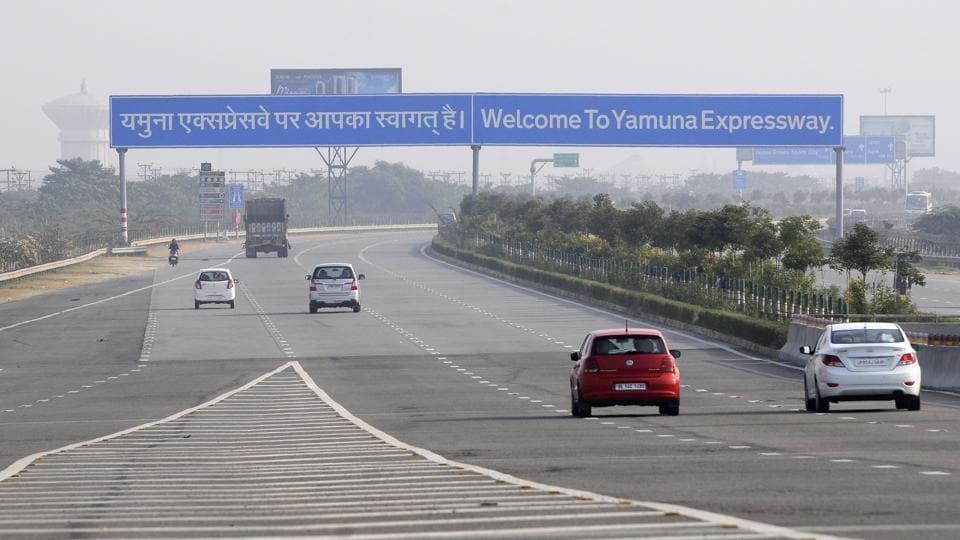 Yamuna Expressway ramp