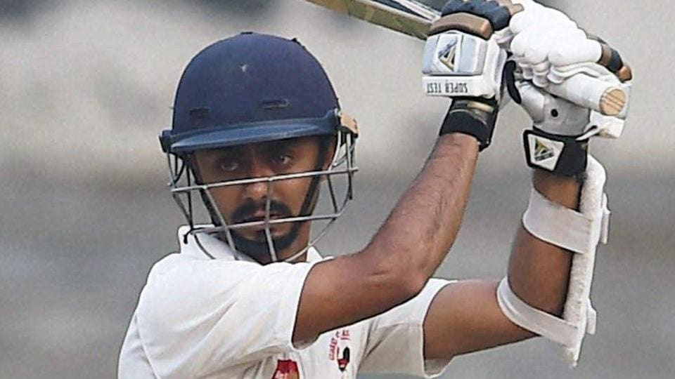 Chirag Gandhi scored an unbeaten 55 as Gujarat took an overall lead of 359 against Rest of India in the Irani Cup.