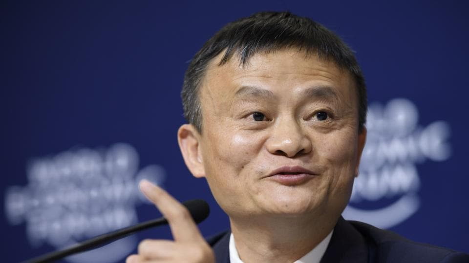 Alibaba Group founder and executive chairman, China's Jack Ma.