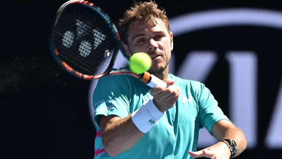 Stan Wawrinka reached the Australian Open quarterfinals after beating Andreas Sippi.