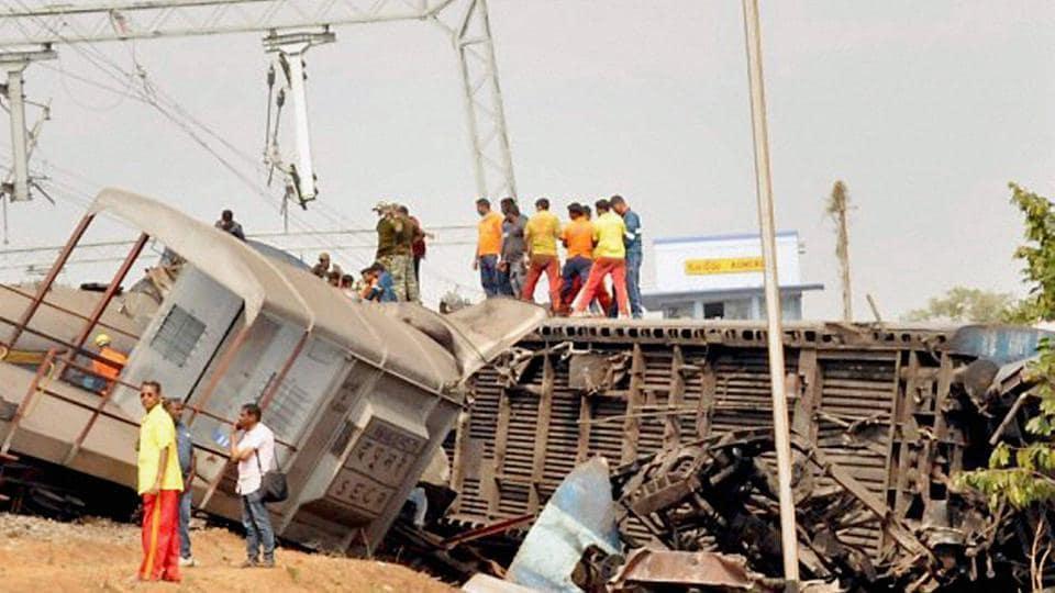 Hirakhand Express,Hirakhand Express derailment,NIA