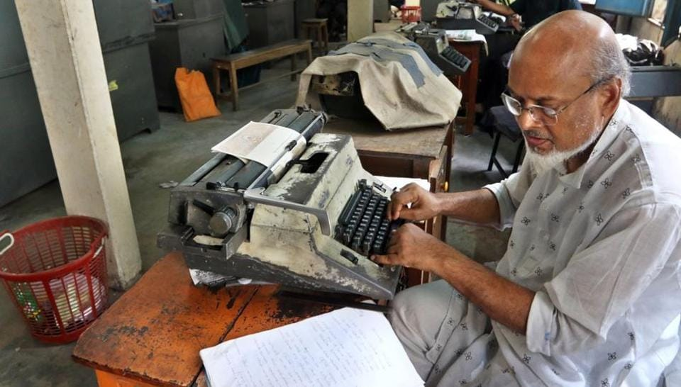 In India, the typewriter was never just a piece of office equipment. It was a sign of education, of professional achievement, of women's growing independence as they slowly entered the workforce.