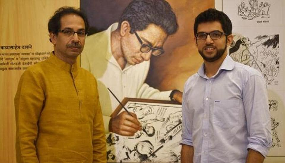 Sena chief Uddhav Thackeray maintained talks with the BJP for an alliance were still underway, but the Sena released its manifesto on Monday as it is an important day for the party, marking the birth anniversary of his father and party founder, the late Bal Thackeray.