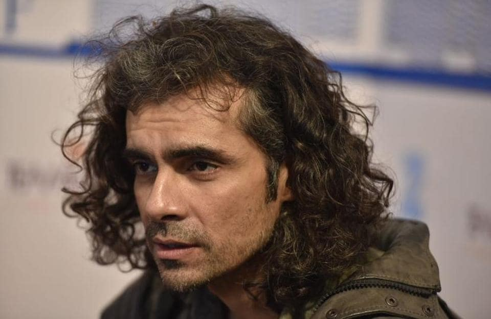 Filmmaker Imtiaz Ali during a session on Monday, the last day of the Jaipur Literature Festival.