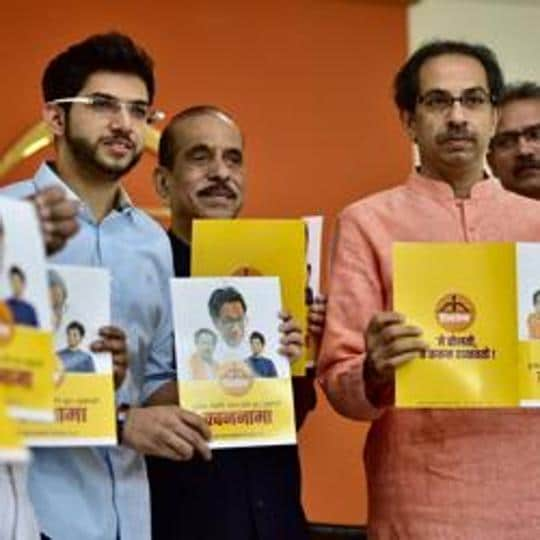 Shiv Sena chief Uddhav Thackeray, however, maintained the party released its manifesto as it is former Sena chief Bal Thackeray's birth anniversary, and it does not reflect any final decision on the alliance for the Brihanmumbai Municipal Corporation (BMC).
