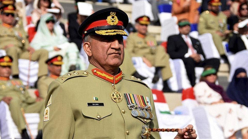 Pakistan's army chief general Qamar Javed Bajwa
