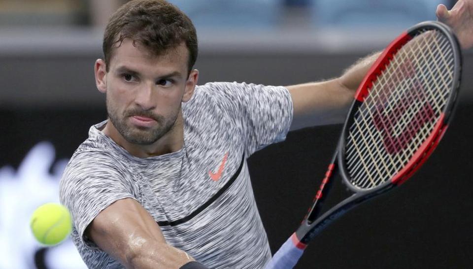 Bulgaria's Grigor Dimitrov defeated Uzbekistan's Denis Istomin in their fourth round match at the Australian Open.