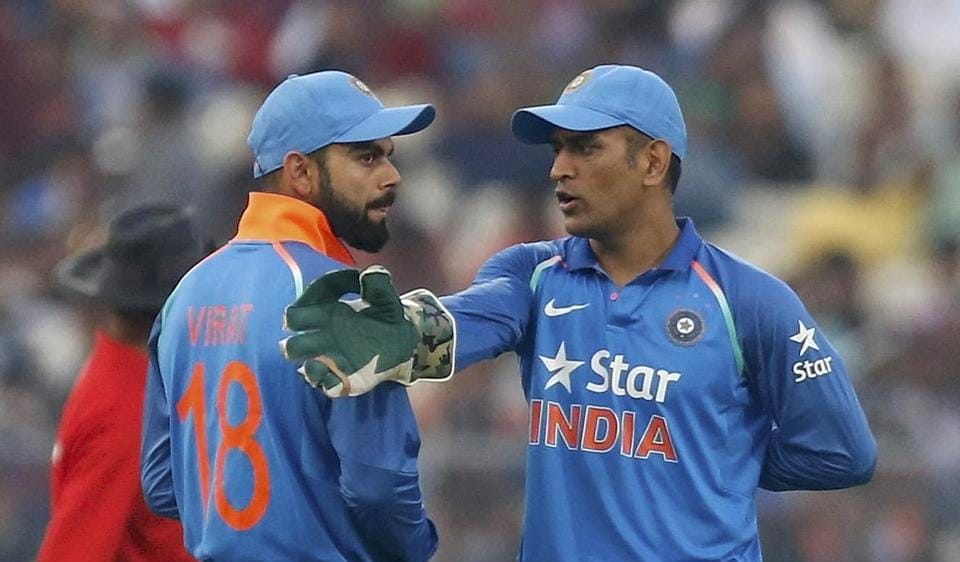 Virat Kohli, Indian cricket team captain, lauded Mahendra Singh Dhoni for his 134 against England.