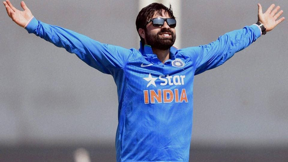 Parvez Rasool  was introduced in the India cricket team for their upcoming T20I series against England in place of Ravichandran Ashwin.