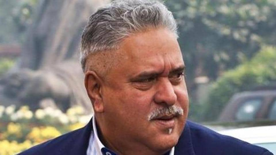 In this file photo, industrialist Vijay Mallya is seen outside Parliament in New Delhi.