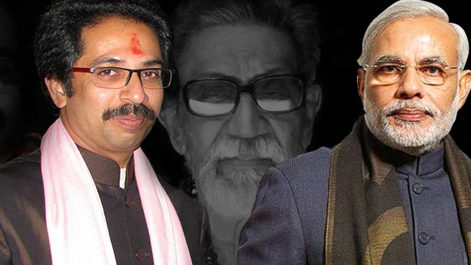 Acombination photo of Shiv Sena chief Uddhav Thackeray and Prime Minister Narendra Modi.