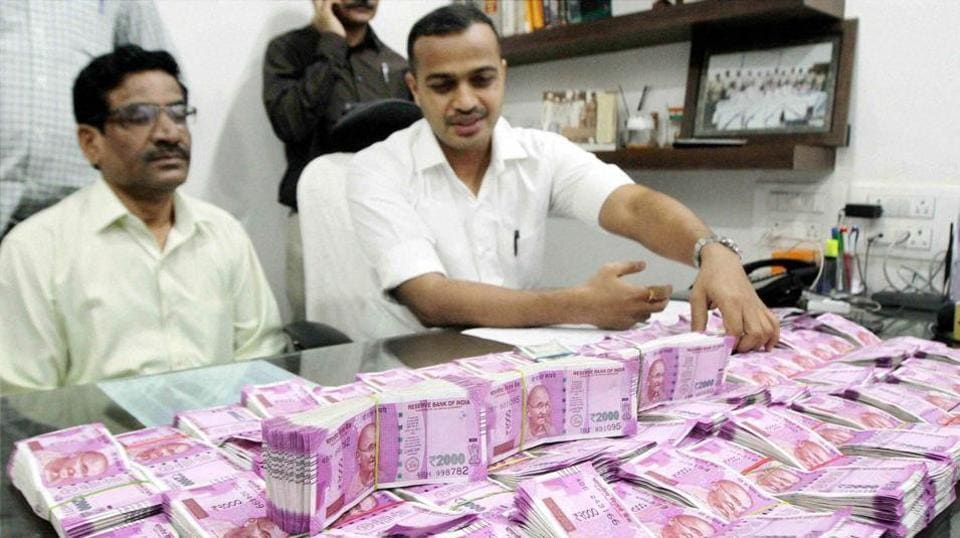 Undisclosed money,Black money,IT raids