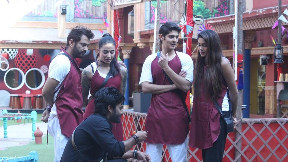 Manveer is the sanchalak of the dhaba task in Tuesday's episode.
