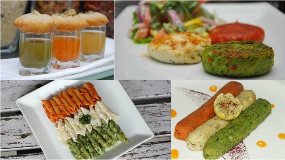 From golgappa shots to kebab platters, there is a lot on offer at restaurants across Delhi.