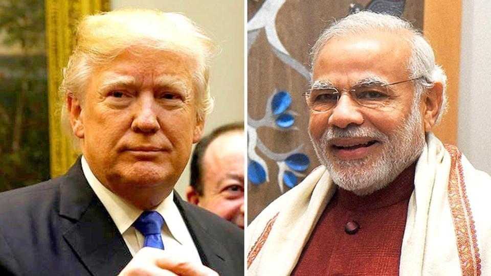 President Trump,PM Modi,Trump phones Modi