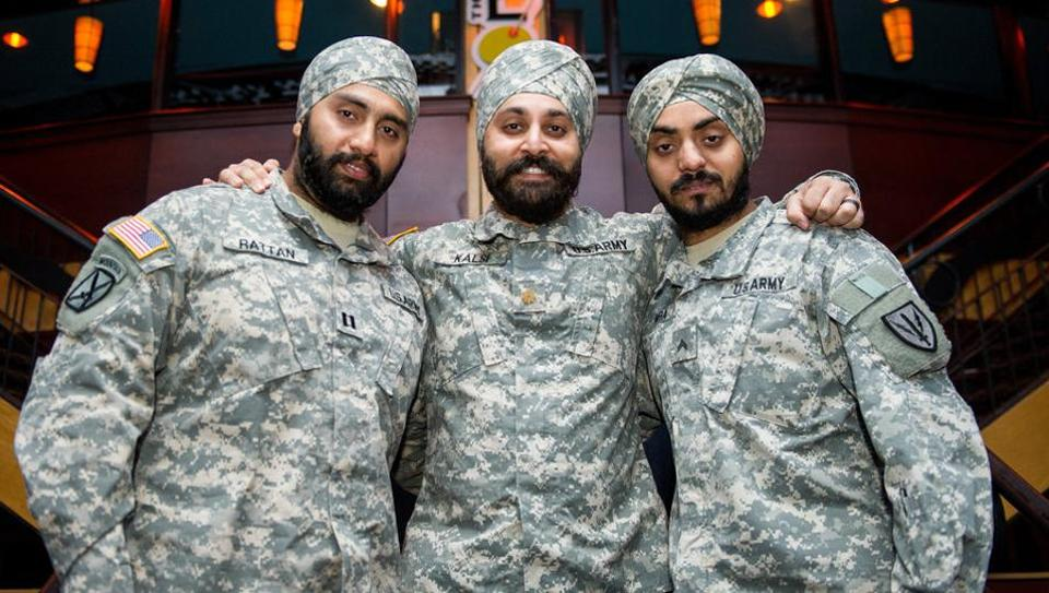 US Army,Sikh,Turban