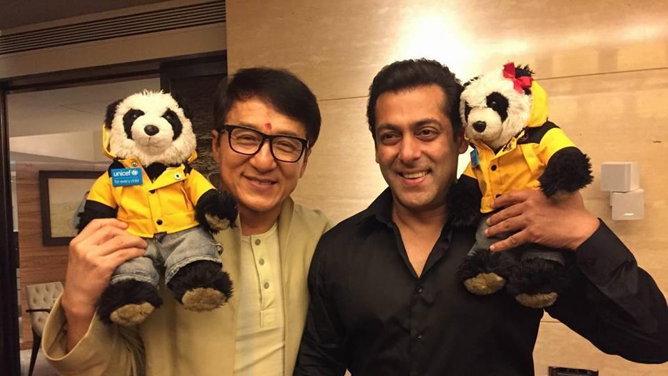 Salman Khan,Jackie Chan,Kung Fu Yoga