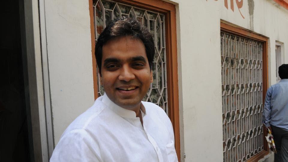 Pankaj Singh,Rajnath's son,Noida