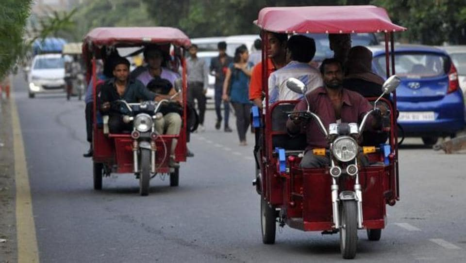 Like 2016, the government has kept the subsidy amount same at Rs15,000 and Rs30,000 which would be given to 3,382 e-rickshaws registered with the transport department.