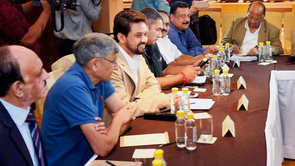 This recent picture shows top Indian cricket board officials meeting to discuss the impact of the Lodha Committee report on cricket reforms. The personnel will be almost entirely new with the Supreme Court due to announce names of fresh BCCI administrators on January 30