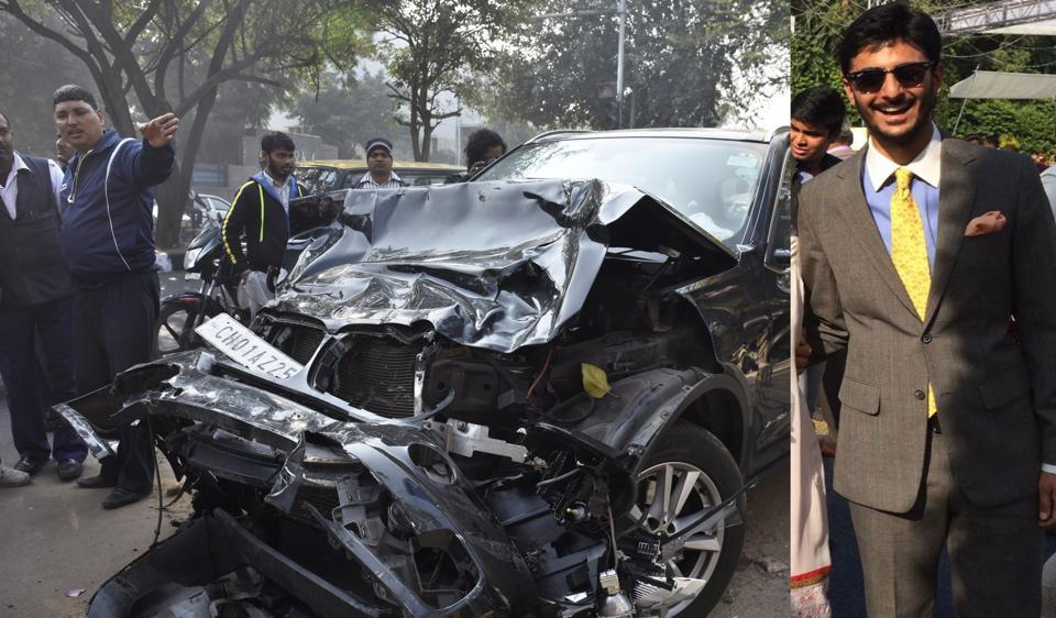 BMW accident: Speeding car rammed into Uber cab at 100-125 ...
